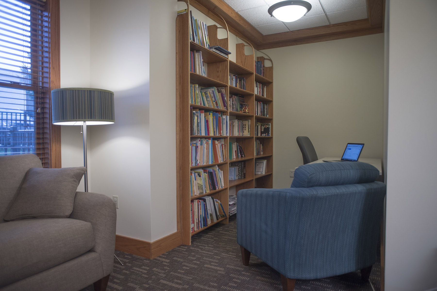 Library in common area